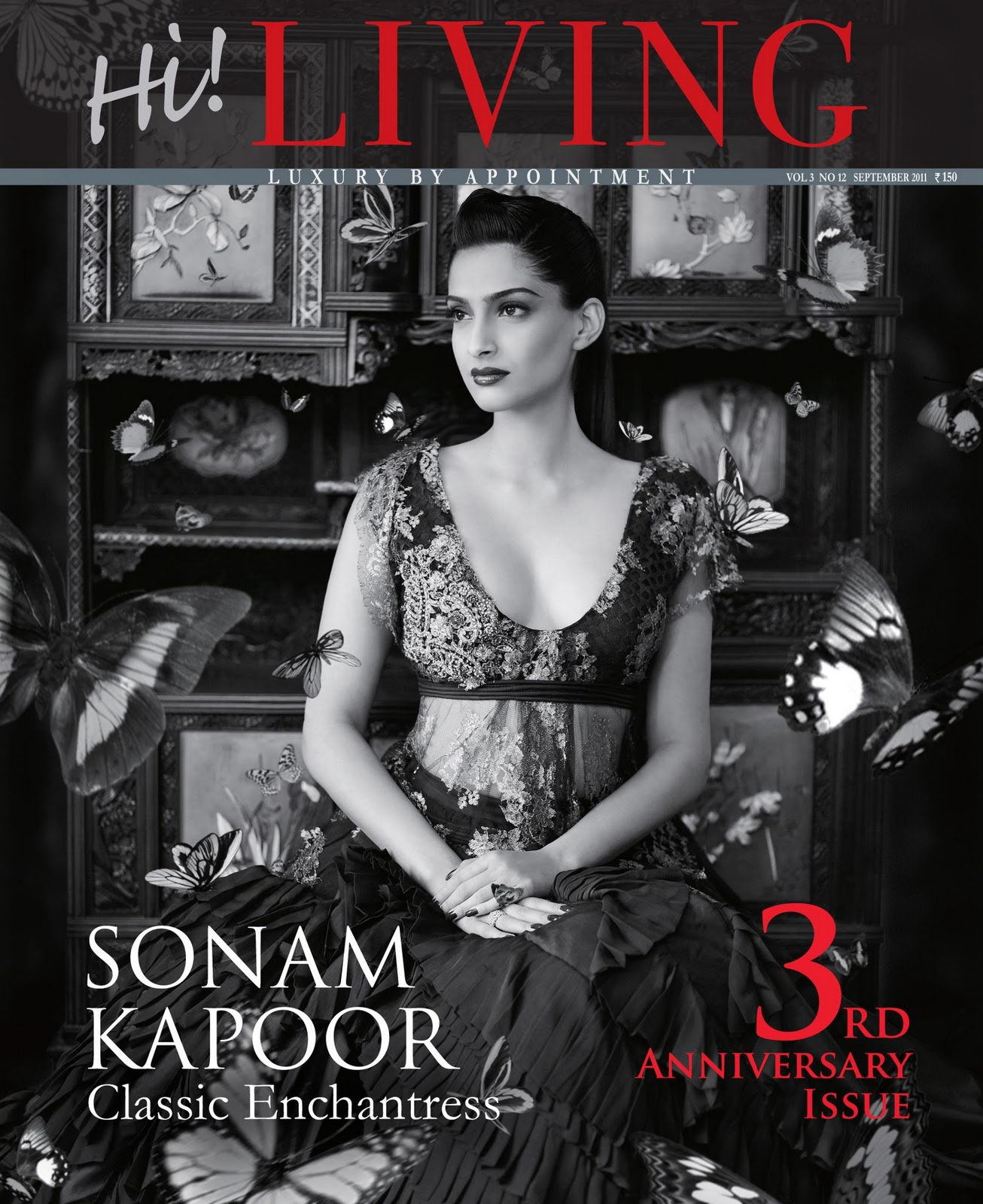 Editorial} Sonam Kapoor for Hi! Living Magazine - Asian Wedding Ideas