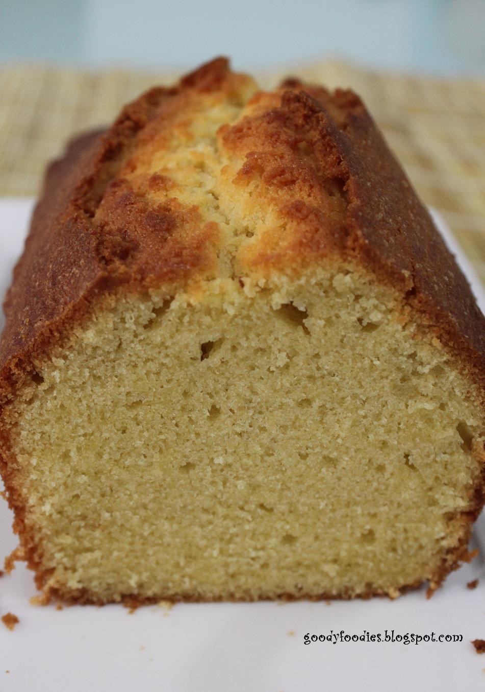 Lemon Madeira Loaf Cake