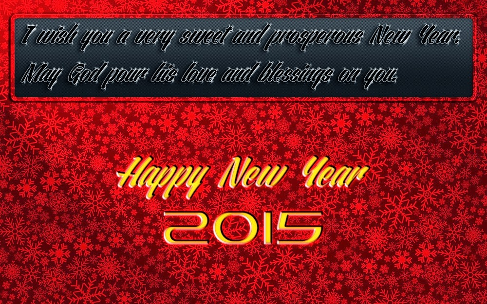 Christmas Stars Fall New Years Wishes Card 2015 Backgrounds
