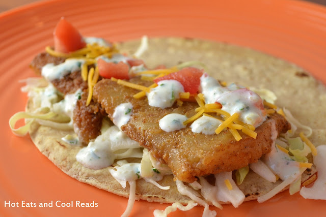 Hot eats and cool reads fantastic fish tacos recipe for Pollock fish recipe