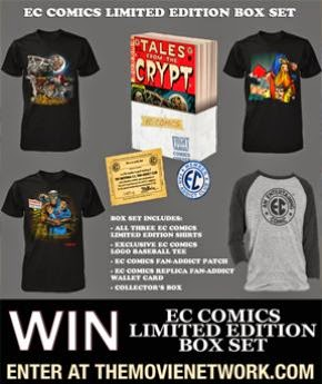 EC Comics Limited Edition Box Set Giveaway via TMN