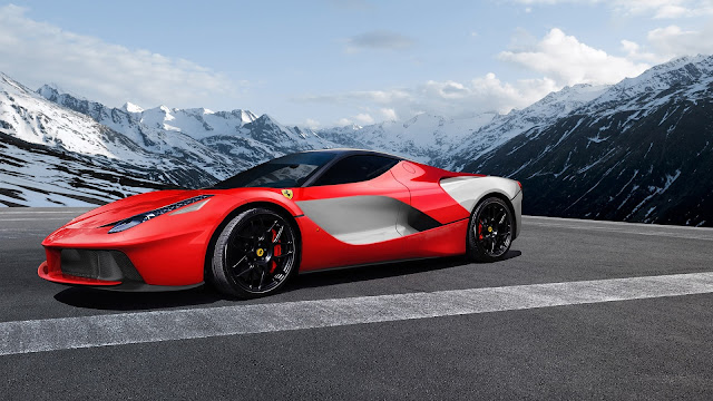Ferrari LaFerrari Red Supercar HD Wallpaper