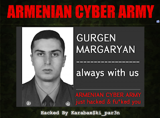 az azeri website hacked