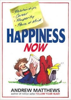 Book Review, Happiness, Now, Andrew Mathews,
