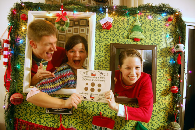 Family ever after ugly christmas sweater party recap for Home alone theme decorations