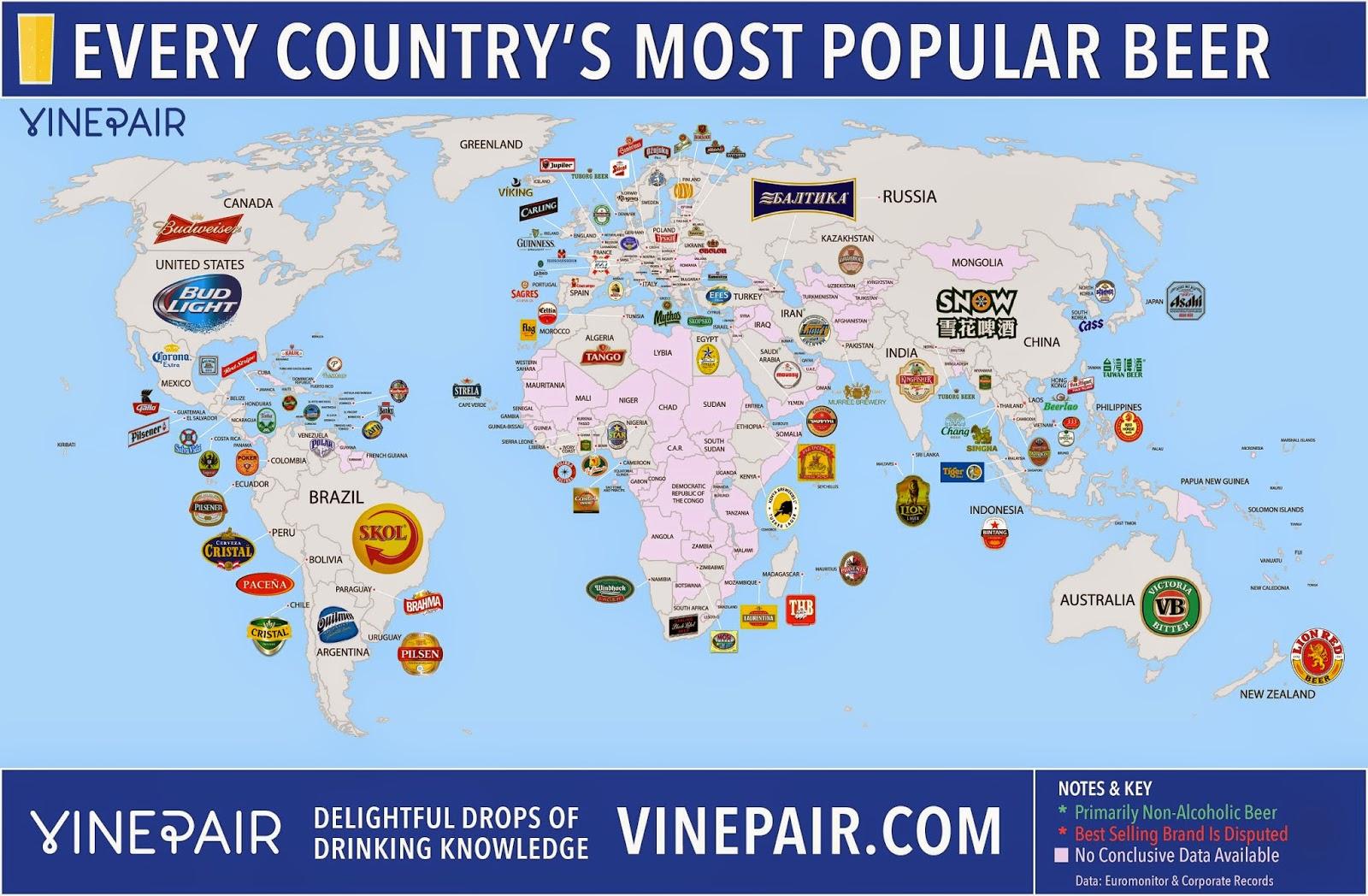 Dünya Bira Tüketim Haritası Görev Seni çağiriyor