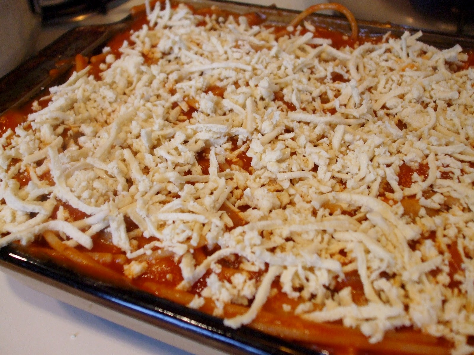 The Woodchuck Vegan: Spaghetti Pie
