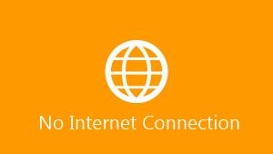 Logo No Internet Connection