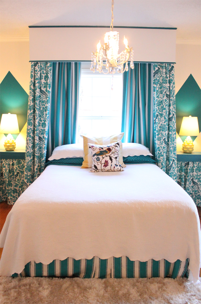 Decore com gigi quartos casal e solteiro - Cortinas para cama ...