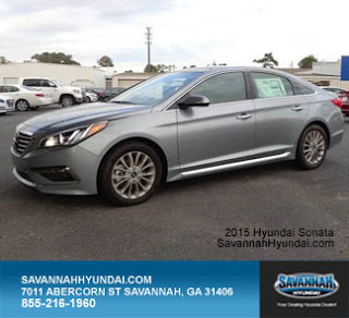 2015 Hyundai Sonata, Savannah GA, New car specials, Savannah Hyundai Dealerships