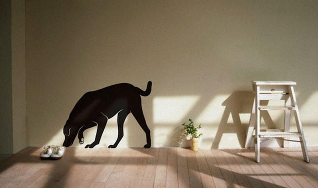 diseos de pinturas minimal en paredes de interiores