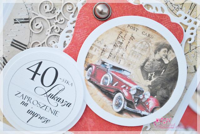 Zaproszenie na 40-ste Urodziny