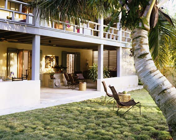 Seaside Style Bahamas Veranda Beach House