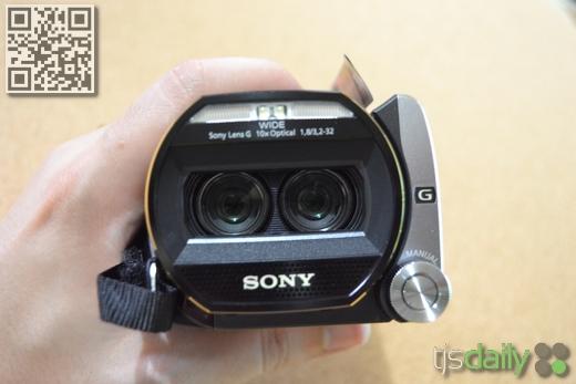 Sony Handycam HDR-TD20V Review Exmor R Dual Lens