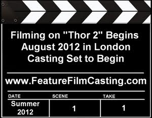 Thor 2 Auditions Casting Information