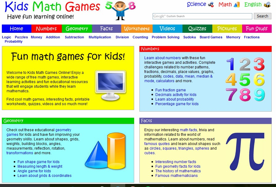 fun math problems for kids Kids who play our math games learn multiplication, fractions, addition, geometry, algebra, problem solving and more math playground has 100s of fun math.