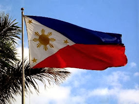 The Philippine Flag, symbol of our independence...God bless the Philippines!