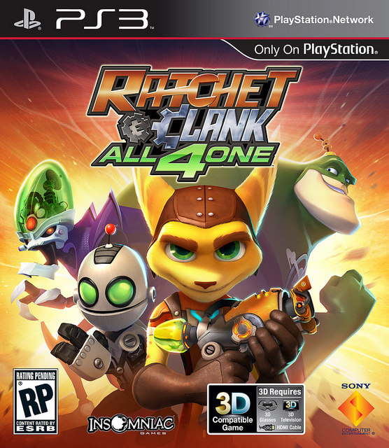 Ratchet & Clank All 4 One Ratchet+and+Clank+All+4+One