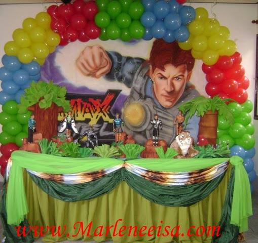 Related to Festa e Decoração do Max Steel - Aniversário do Max