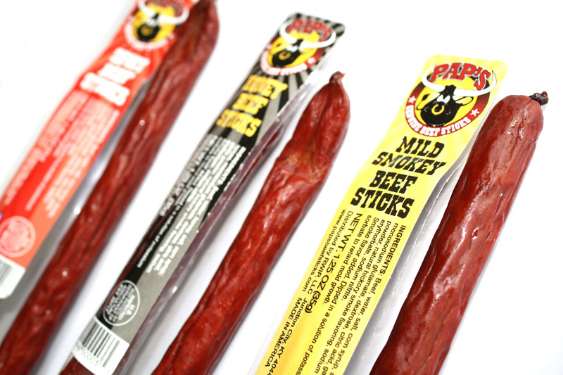 paps beef sticks