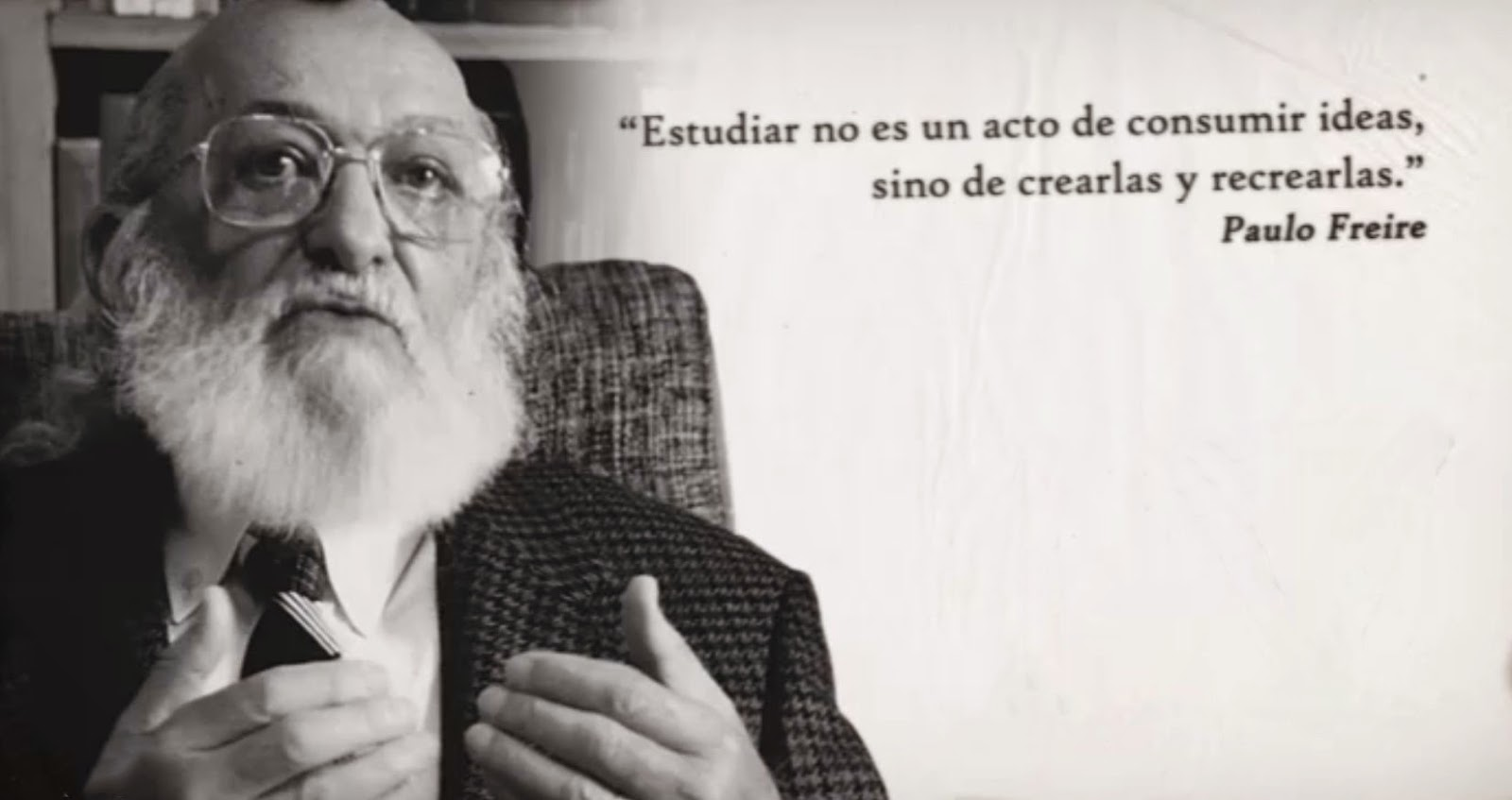 Paulo Freire: dialogue, praxis and education