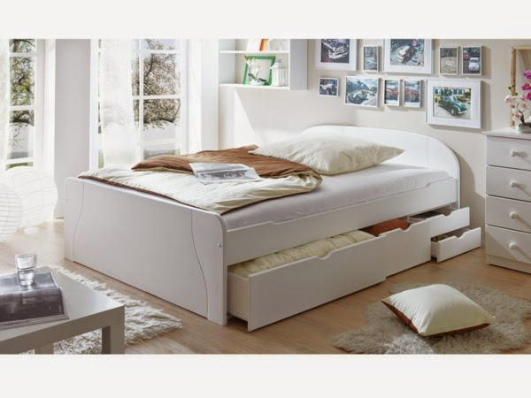 storage drawers double bed with drawers for bed linen storage
