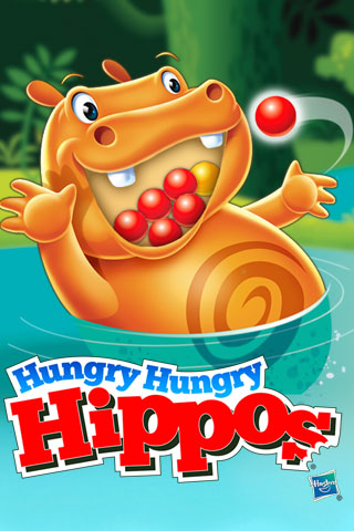 Hungry Hungry Hippos Free App Game By Hasbro