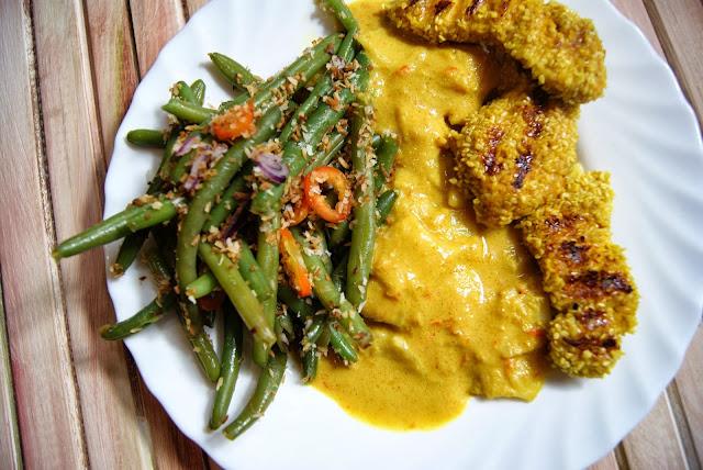 Curry z kurczakiem, egzotyczne curry, przepis curry, domowe curry