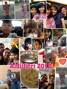 Our MEMORABLE Aidilfitri 2012