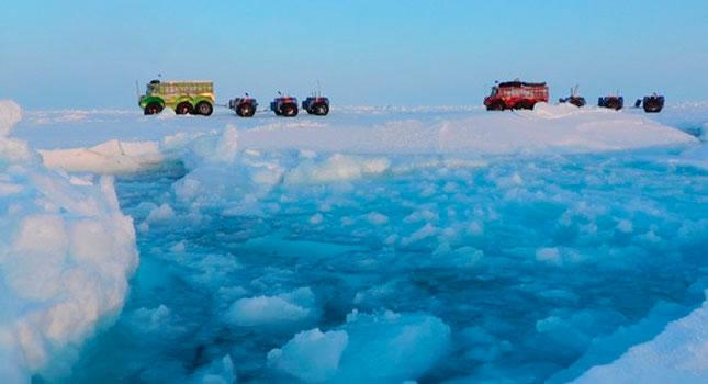 """Rusia abandona de urgencia su estación polar debido al deshielo: """"No hay chances de sobrevivir"""""""