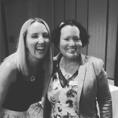 Carly Findlay With Kate Sutton from UberKate