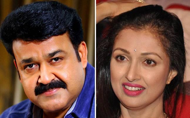 Mohanlal to romance Gautami