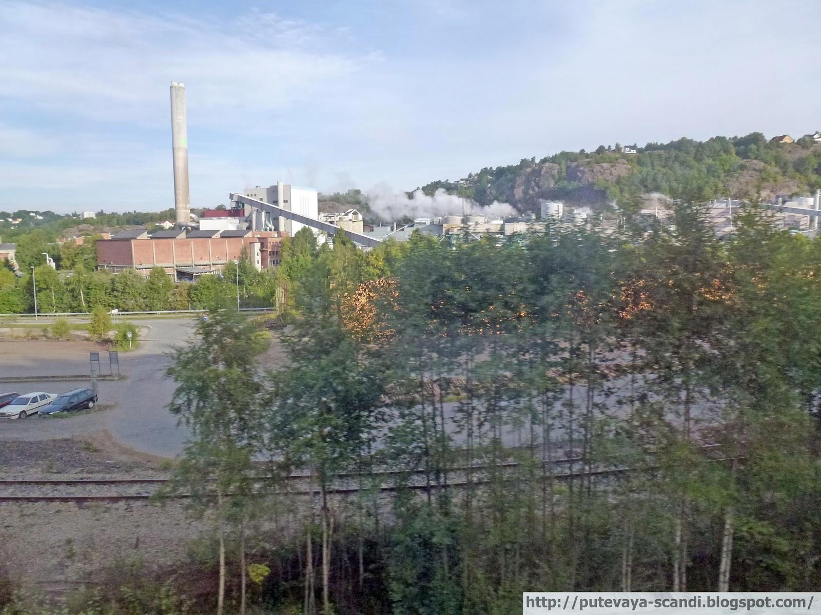 индустриальный пейзаж Халдена