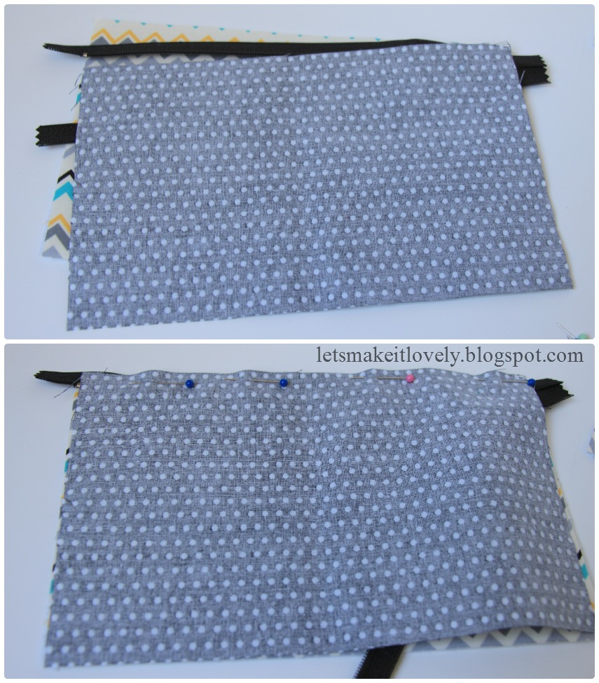 Sewing a Zipper Pouch Tutorial