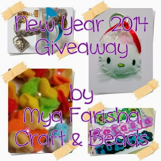 Giveaway New Year 2014 by Mya dan CB