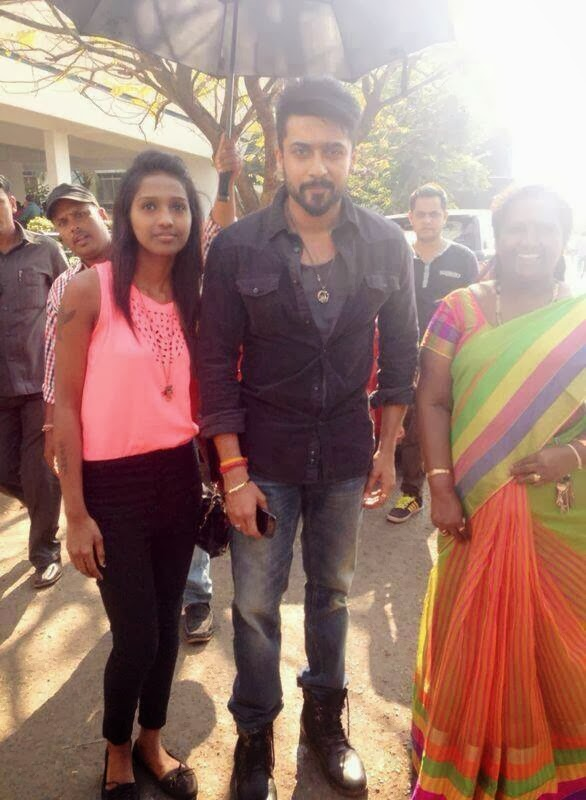 Surya with fans anjaan shooting spot actor surya blog surya with fans anjaan shooting spot altavistaventures Gallery