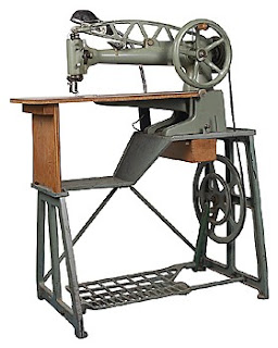 when was the electric sewing machine invented