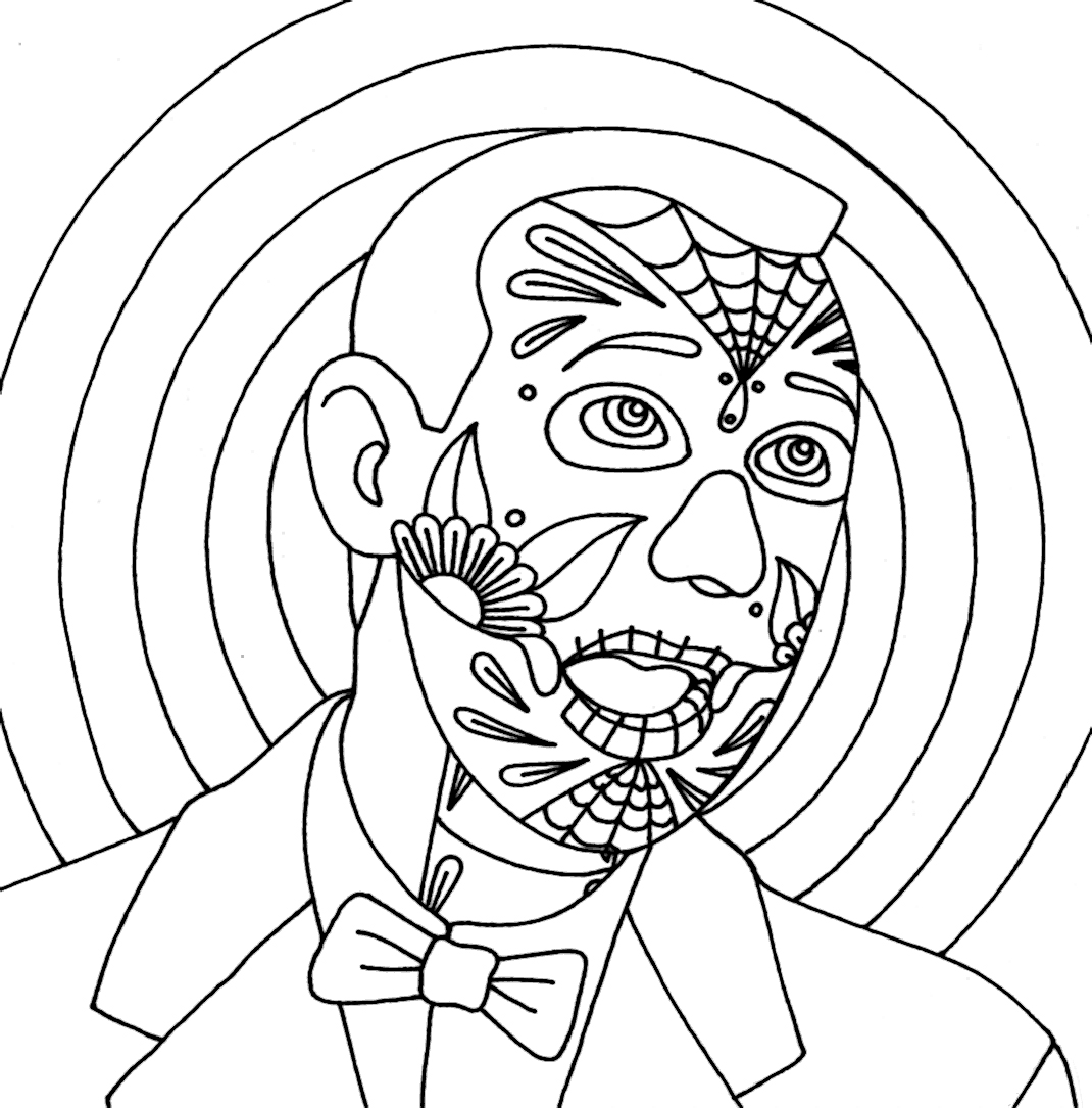 yucca flats n m wenchkin u0027s coloring pages dia de los wee