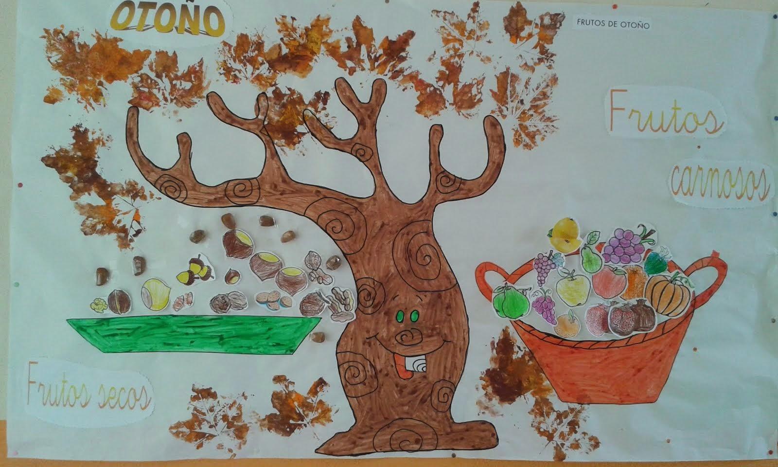 Experiencias en el aula infantil de aguilafuente for Decoracion otono infantil