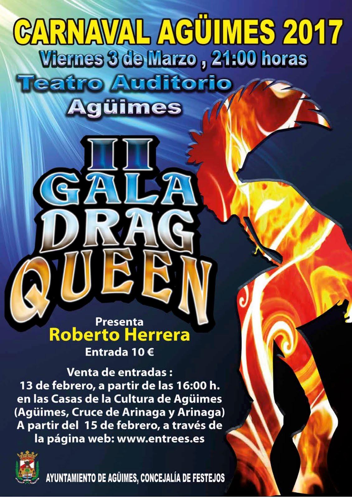 II Gala Drag Queen Agüimes
