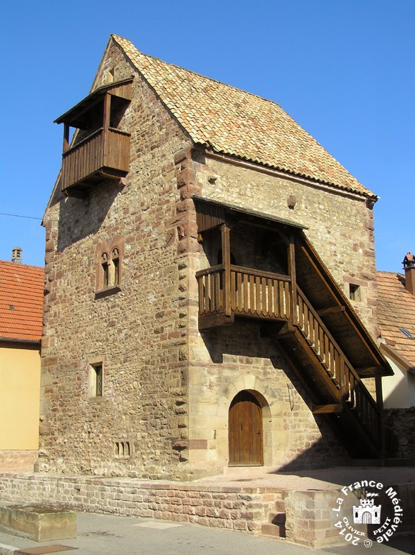 ROSHEIM (67) - La Maison romane