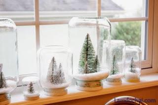 Cách làm quả cầu tuyết Giáng Sinh