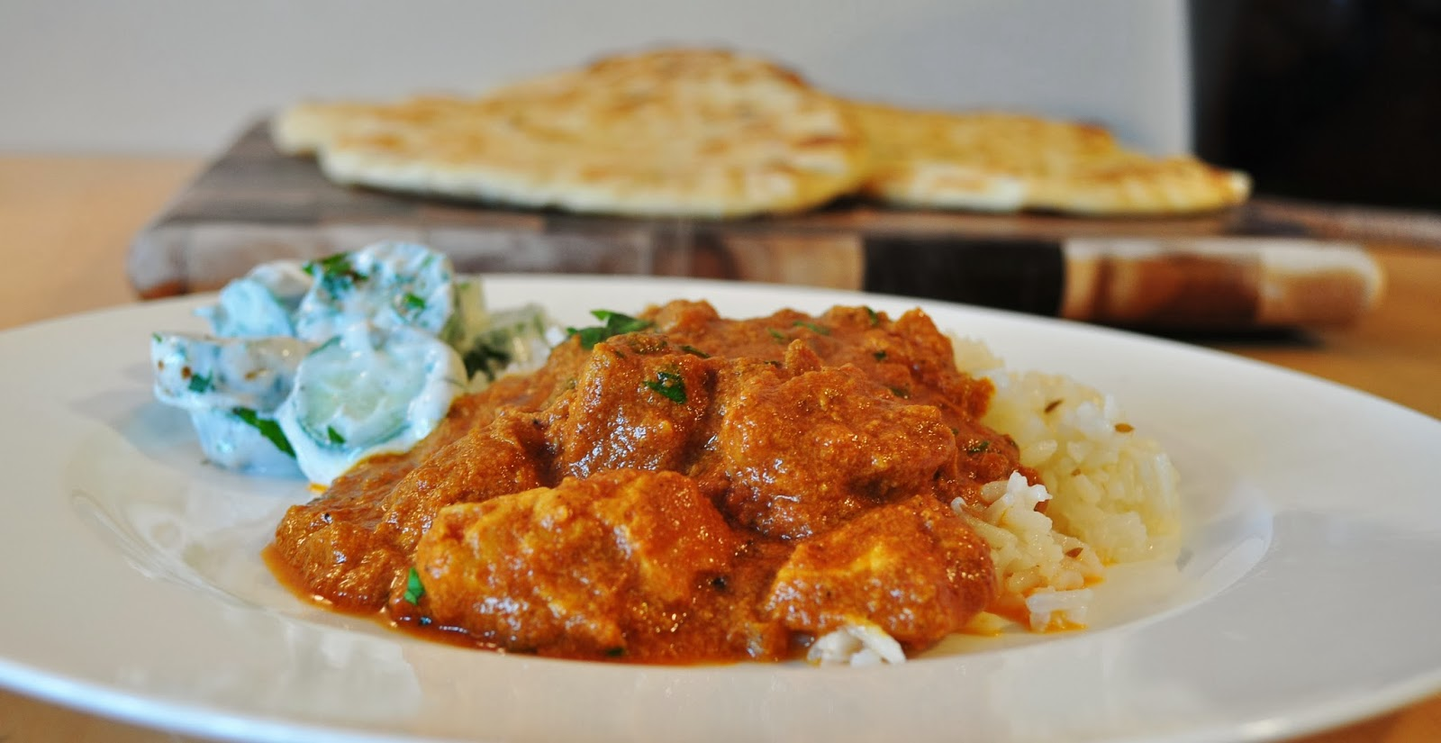 My Tiny Oven: Slow Cooker Butter Chicken