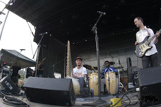 Toubab Krewe on the Main Stage, ARISE Music Festival, Thursday August 15