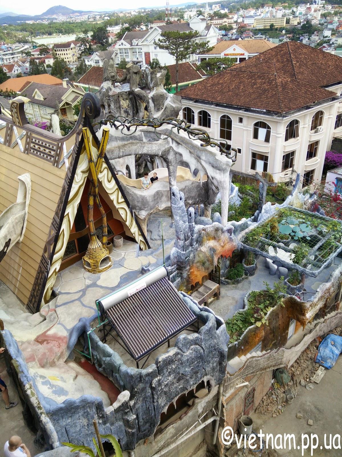 Гостиница сумасшедший дом Далат Вьетнам