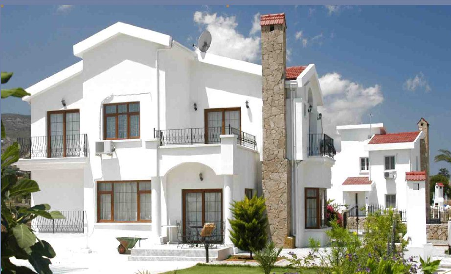 New home designs latest cyprus villas designs Villa designs india