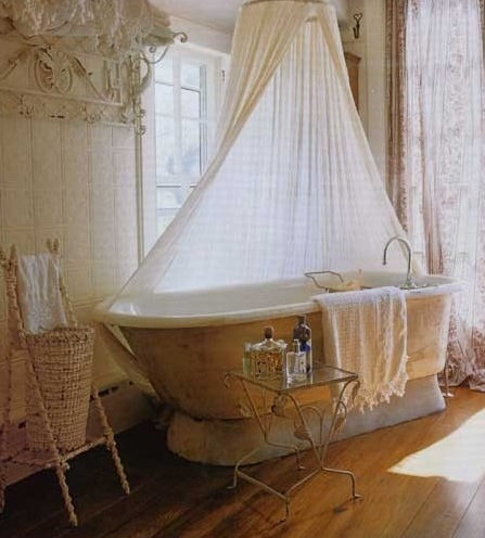 mosquito net in the bathroom 1
