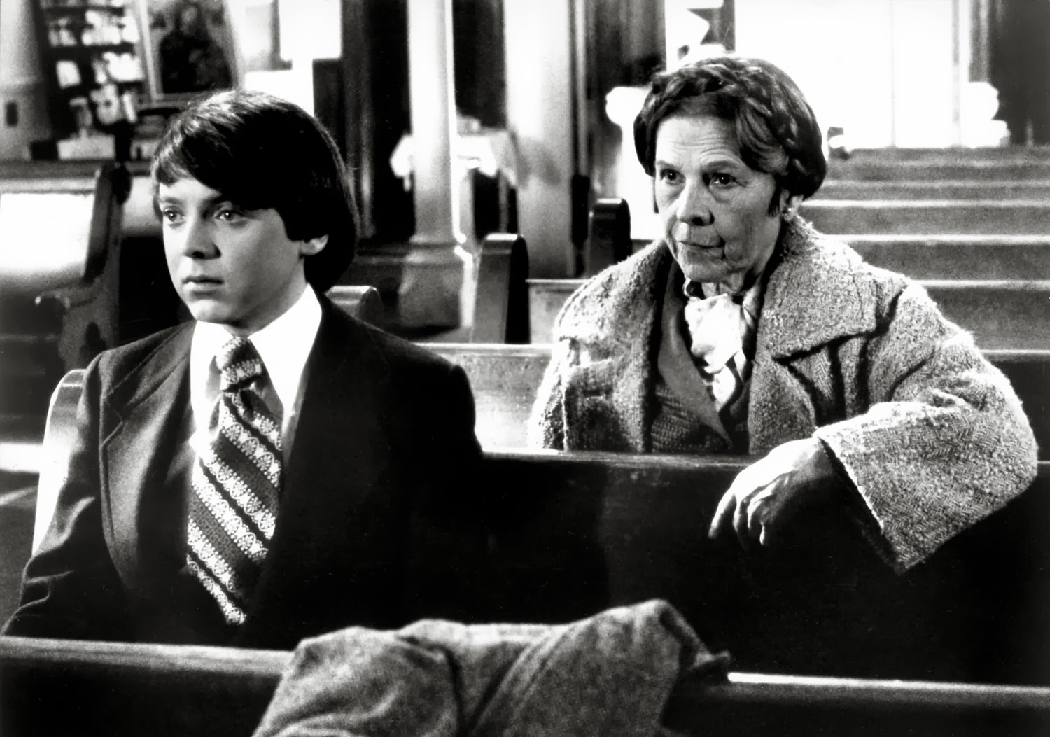 Harold and Maud - Bud Cort and Ruth Gordon in Hal Ashby's 1971 classic in the dark funeral humour category
