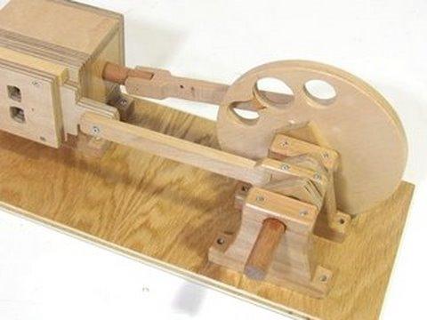 Modelo base para o motor movido a ar