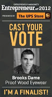 Vote for Proof founder Brooks!